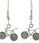 VB bike charm earrings sb