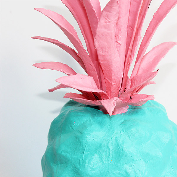 papermache pinapple