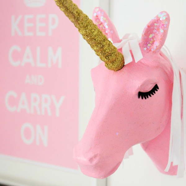 unicorn papermache